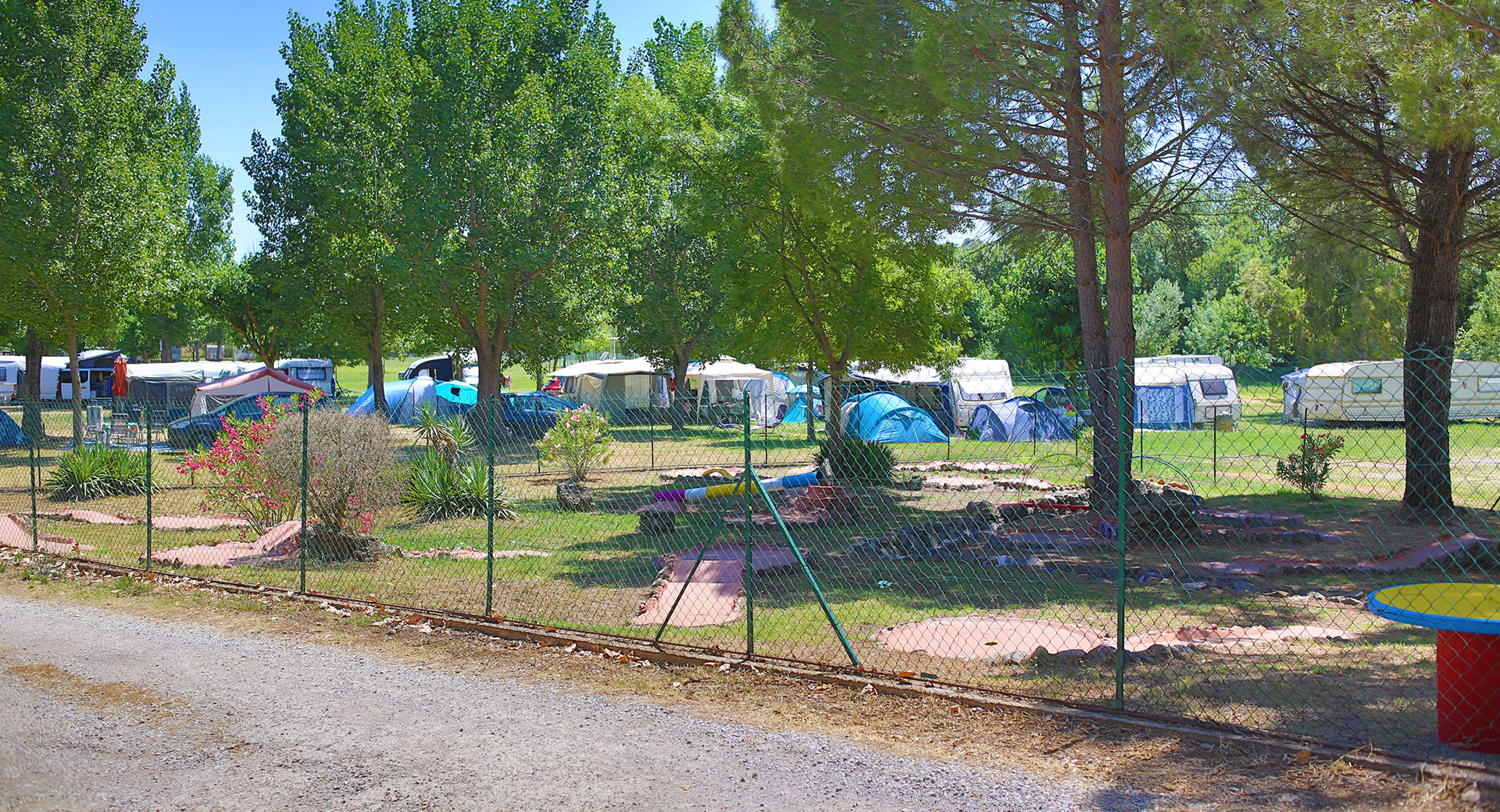 emplacement camping draguignan